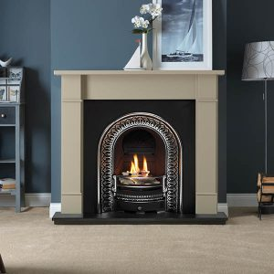 Chatsworth Grey Mantels